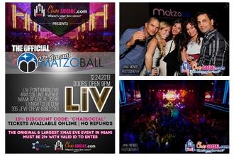 Chai Social® Matzoball® LIV 2013