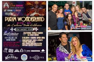 Chai Social® Purim Wonderland 2014